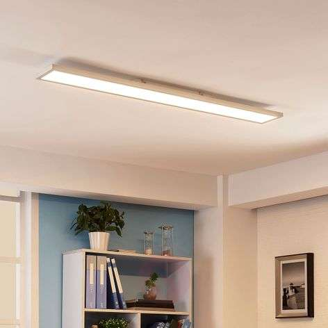 Elongated LED ceiling lamp Enora, 40 W