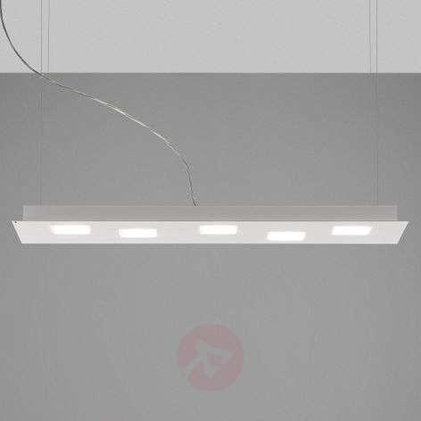 Elongated Quarter LED hanging lamp