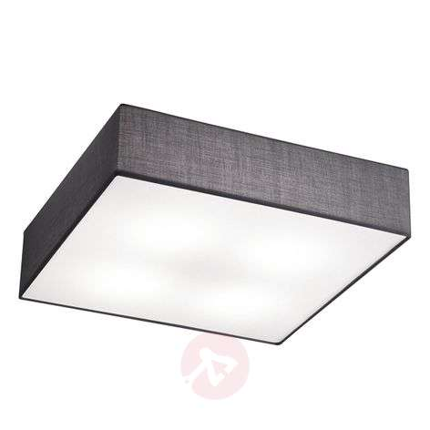 Embassy square ceiling light made of fabric-9004785-31
