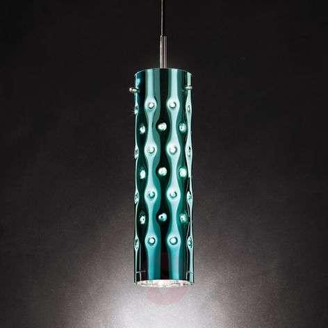 Emerald-green Dimple pendant light