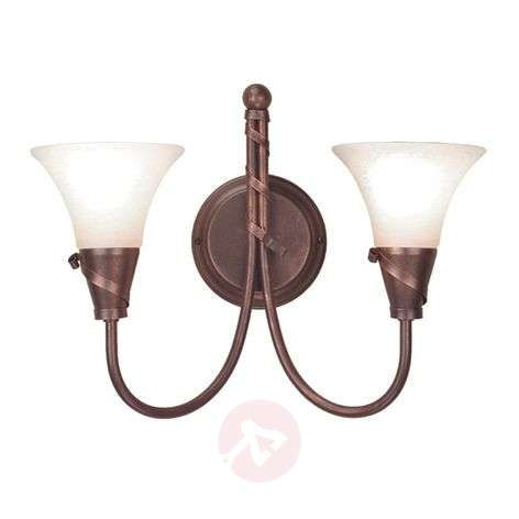 Emily Wall Light with Copper Patina