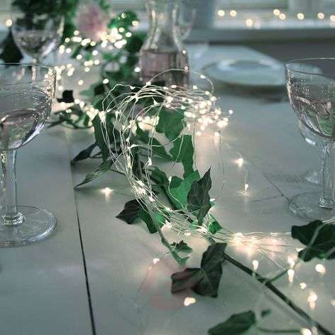 Enchanting 360-bulb LED string lights Copper Wire