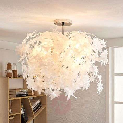 Enchanting ceiling lamp Maple with leaves