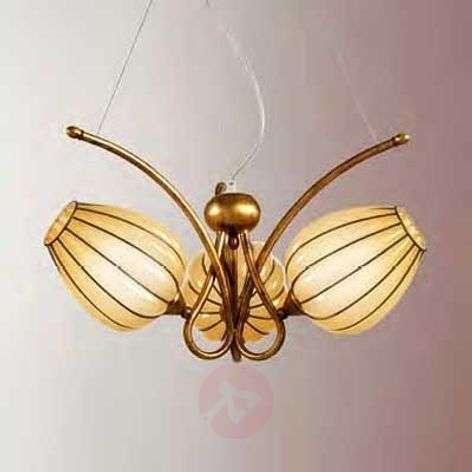 Enchanting hanging light GEMMA, handmade