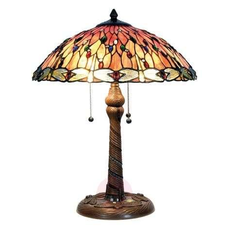 Enchanting table lamp Bella, Tiffany-style