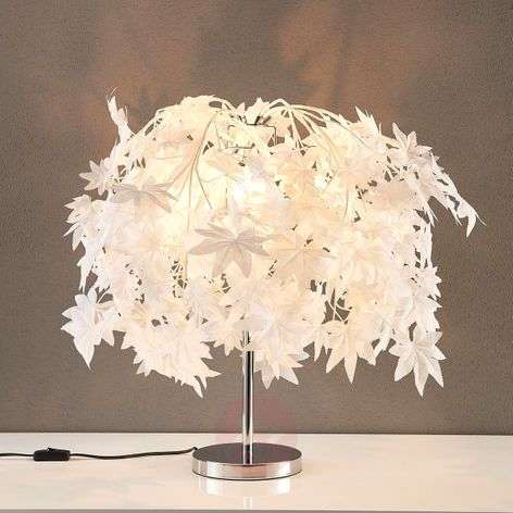 Enchanting table lamp Maple with leafy forest-9621119-320