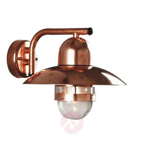 Energy saving wall light Nibe, copper