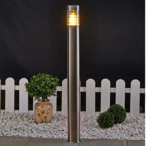 Enja Narrow Stainless Steel Path Lamp