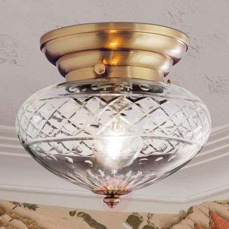 Enna Ceiling Light Round Bodied Single Bulb