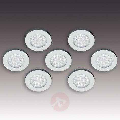 ER-LED set of seven flat LED surface lights