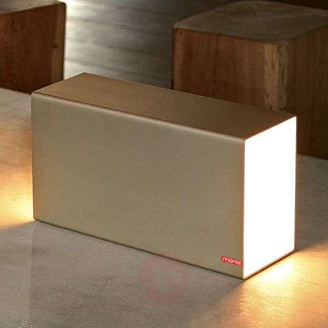 ERASER 380 - pull-out table lamp, champagne