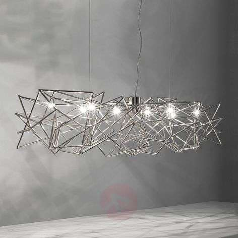 Etoile - interwoven hanging light, 8-bulb