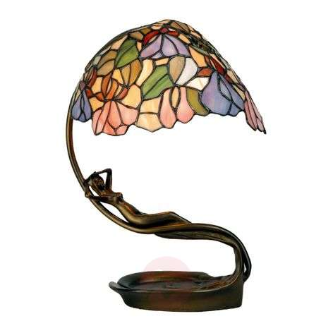 Excellent table lamp Eve in the Tiffany style