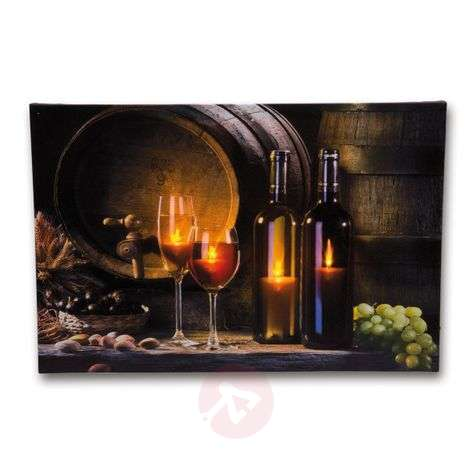 Exceptional Wine Cellar LED picture light