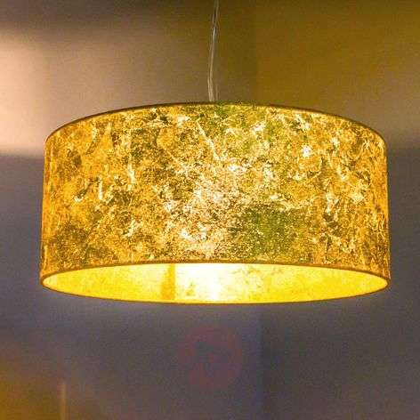 Exclusive hanging lamp Aura with a golden finish