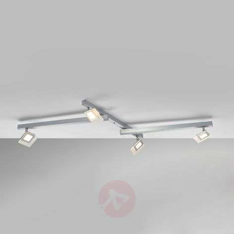 Exclusive LED ceiling lamp line, four-bulb