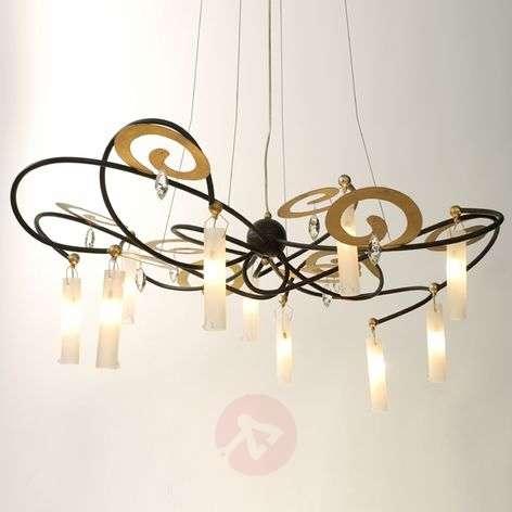Exclusive LED hanging light Casino Grande, 110 cm