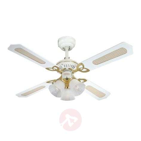 Exclusive Princess Trio ceiling fan in white-9602167-35