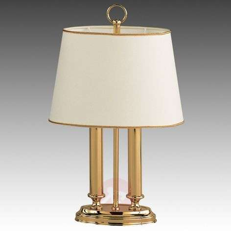 Exclusive table lamp Queen mini, brass