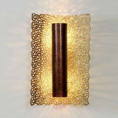 Exclusive wall lamp Utopistico gold