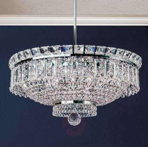 Extending crystalhanging lamp Ambassador