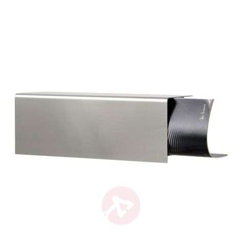 Extra thick newspaper holder L.A, stainless steel