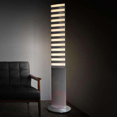 Extraordinary LED floor lamp Piano