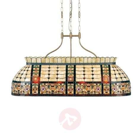 Extraordinary pendant light Gani, Tiffany-look