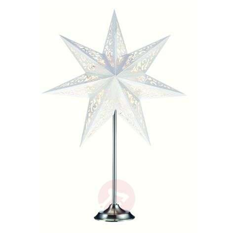 Extraordinary star with stand Vallby, white-6507189-31