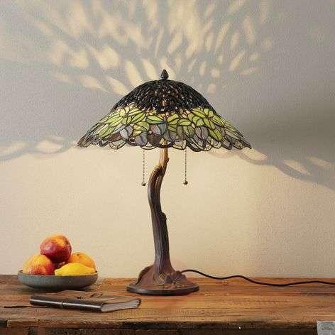Extraordinary table lamp Jamaica, Tiffany style