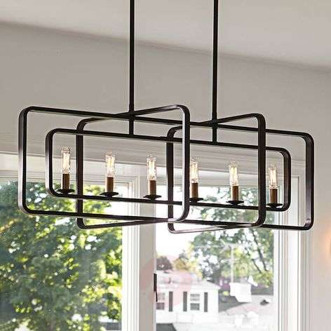 Extravagant chandelier Quentin six-bulb