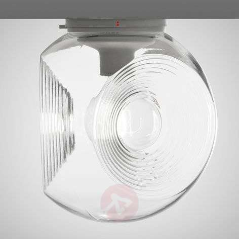 Eyes - glass ceiling light with clear diffuser