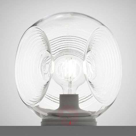 Eyes - glass table lamp with clear diffuser