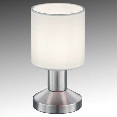 Fabric table lamp Garda with white lampshade-9005332-31