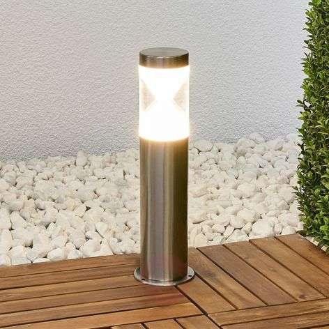 Fabrizio LED pillar lamp with hourglass look-9988153-31