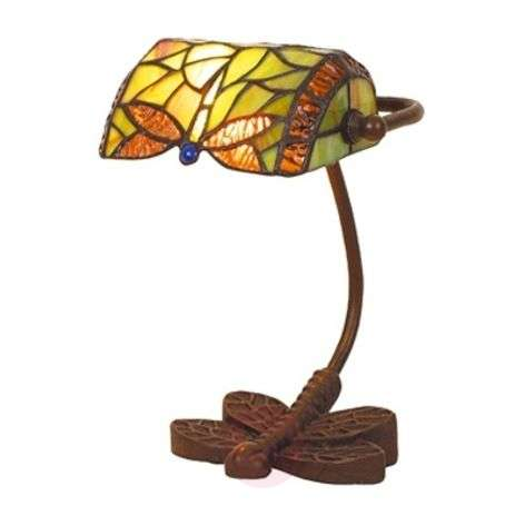 Fabulous table lamp DRAGONFLY, handmade