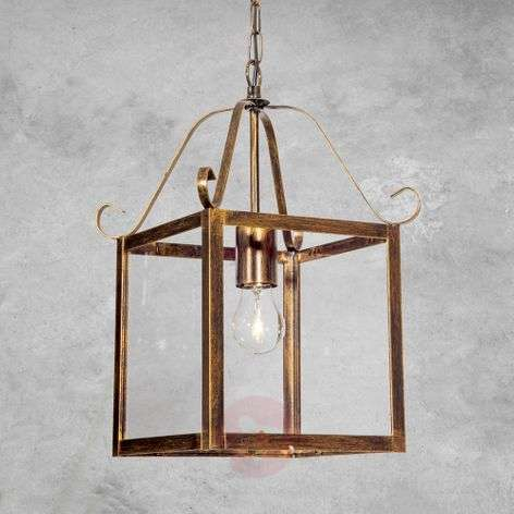 Falotta Hanging Light Wonderful Square Single Bulb