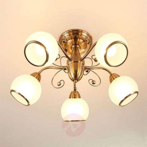 Fantastic ceiling light Corentin, antique brass-9620753-32