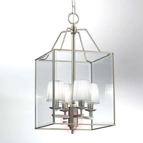 Fascinating Lampione hanging light nickel