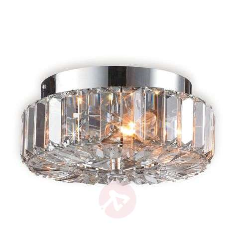 Fascinating ULRIKSDAL ceiling light with crystal