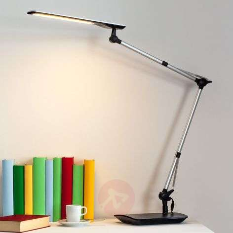Felipe LED Desk Lamp with Clip-on Base