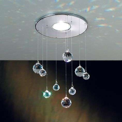 Feng Shui Built-In Light Crystal Decorations