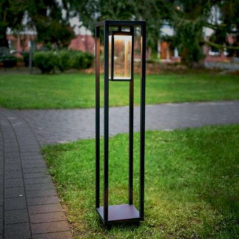 Ferdinand frame-shaped LED bollard light