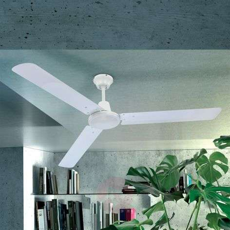 Ferro Ceiling Fan with Switch, White