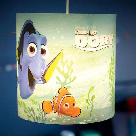 Finding Dory colourful children's hanging light