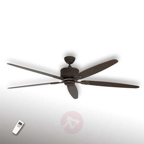 Five-blade ceiling fan Eco Elements brown