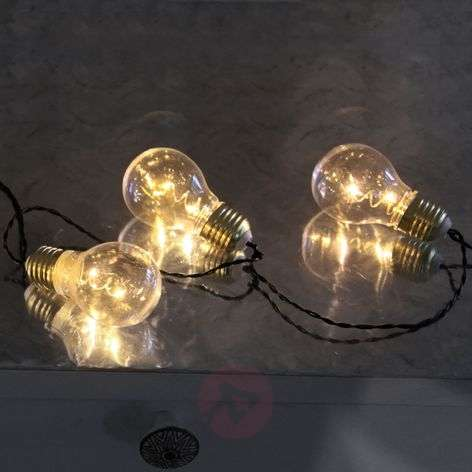 Five-bulb LED string lights Glow Battery