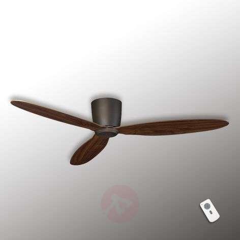 Flat ceiling fan Eco Plano, bronze