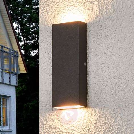 Flat LED outdoor wall lamp Corda