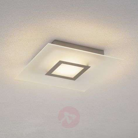 Flat - quadratic LED ceiling lamp, dimmable